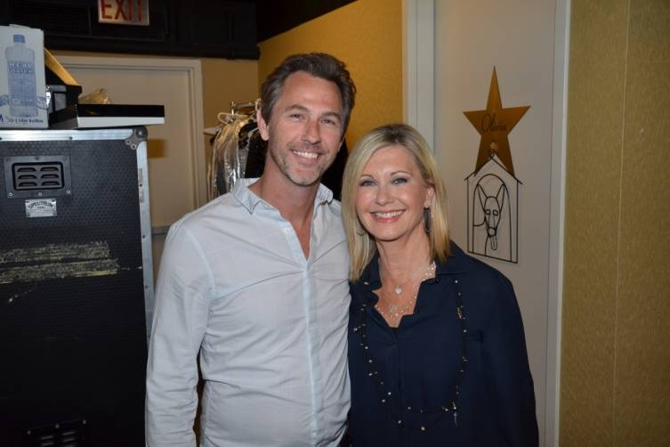 Daniel Jones and Olivia Newton-John