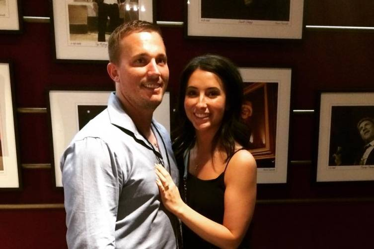 Dakota Meyer and Bristol Palin at The Joint.