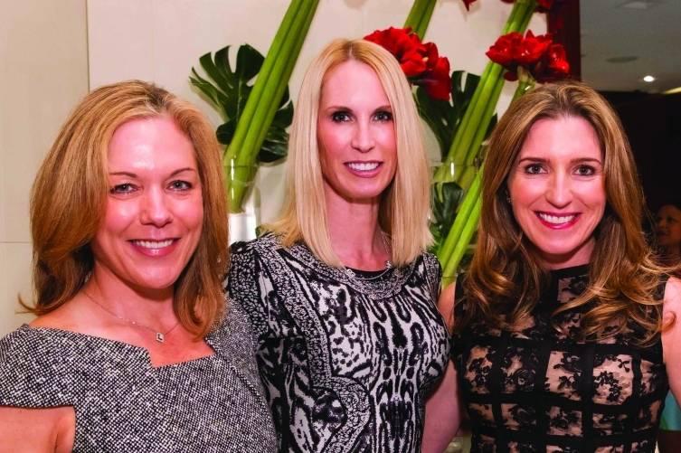 Darayn Hickingbotham, Krista Giovara and Jessica Hickingbotham