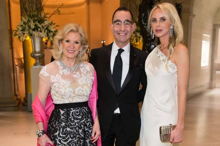 Dede Wilsey, Colin Bailey and Vanessa Getty