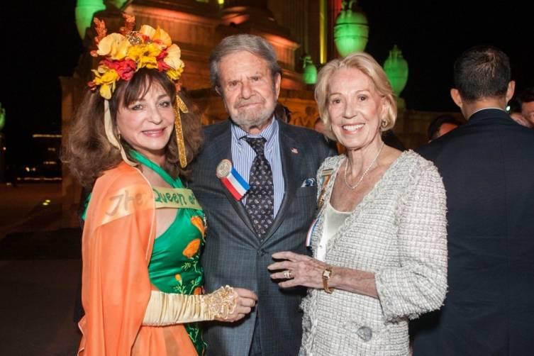 Donna Huggins, Tad Taube and Charlotte Shultz