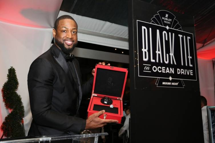 Dwyane Wade presents the Classic Fusion Dwyane Wade Hublot