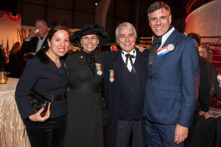 Eleni Kounalakis, Barbara Cutler and Bill Ballas, Markos Kounalakis