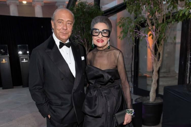 Fawaz Gruosi and Joy Venturini Bianchi