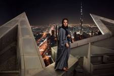 Alia Al Mur at the JW Marriott Hotel in Dubai is a featured image in part of Steve McCurry's dazzling exhibit featured at The Empty Quarter.