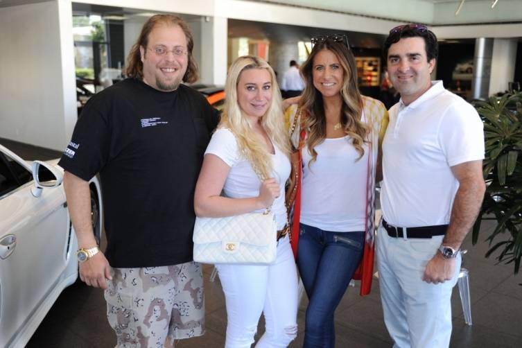 Gill & Lorena Dezer, & Maria & Sebastien Tettamanti