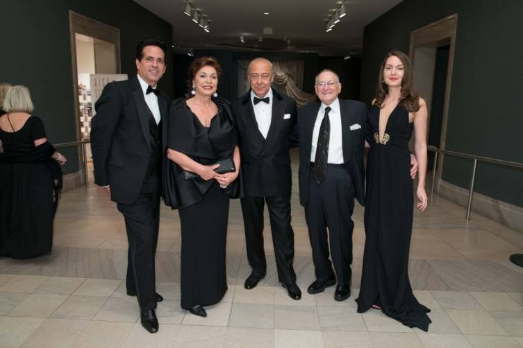 Giovanni Mattera, Maria Manetti Shrem, Fawaz Gruosi, Jan Shrem and Stacy Taylor