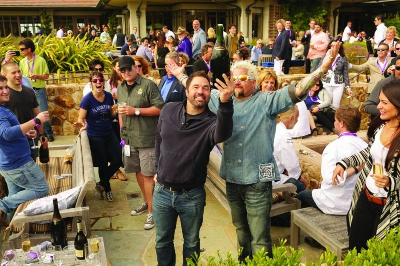 Guy Fieri at the Pebble Beach Food & Wine Festival