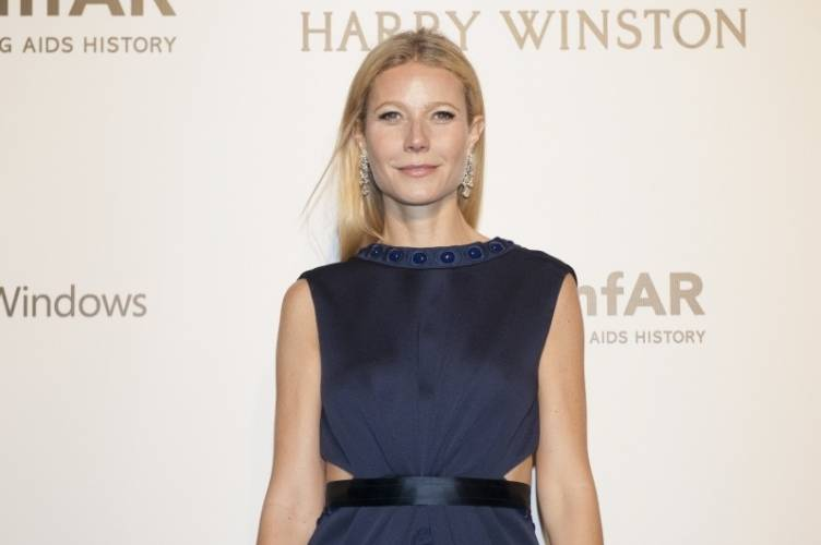 Gwyneth Paltrow at the 2015 amfAR Gala in Hong Kong
