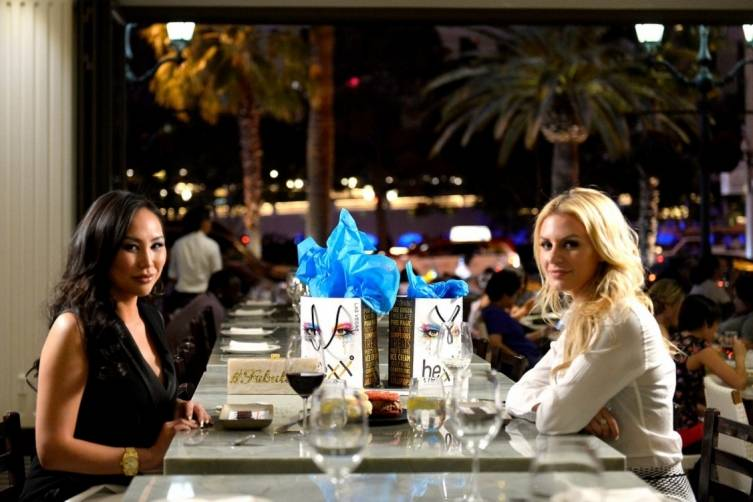 HEXX_Morgan Stewart and Dorothy Wang Dine at HEXX at Paris Las Vegas_Bryan Steffy