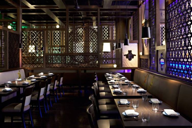 Hakkasan Beverly Hills interior design[1]