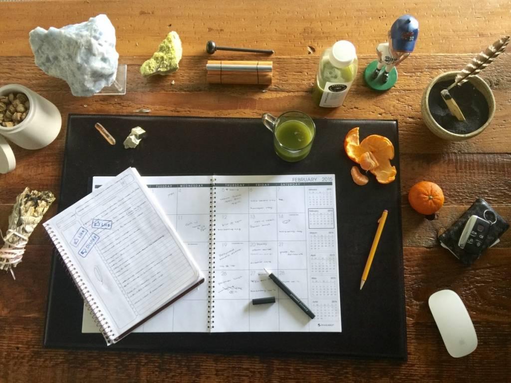 Hayden Slater's desk