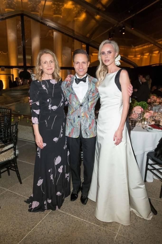 Heather Ive, Ken Fulk and Vanessa Getty