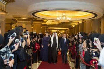 His Excellency Sheikh Nahayan Mabarak Al Nahyan arrives to inaugurate th… copy