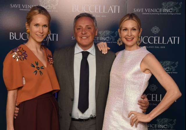 Indre Rockefeller, Alberto Milani, Kelly Rutherford
