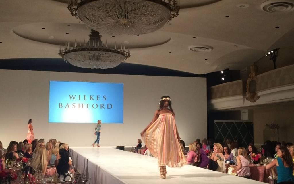 JLSF fashion show runway