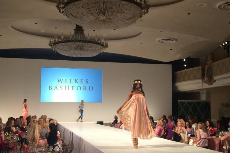 JLSF fashion show runway