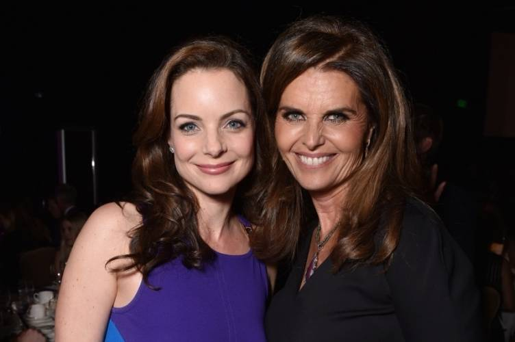 Kimberly Williams Paisley and Maria Shriver