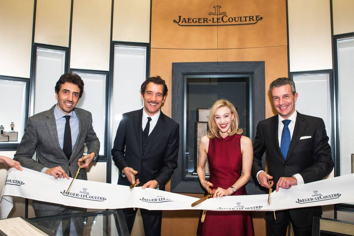 Jaeger-LeCoultre New York flagship  ribbon cutting ceremony