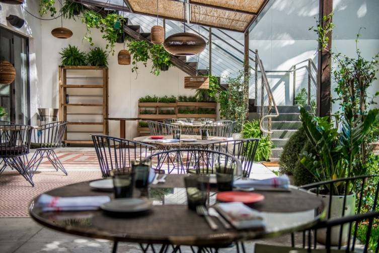KLIMA Restaurant and Bar patio