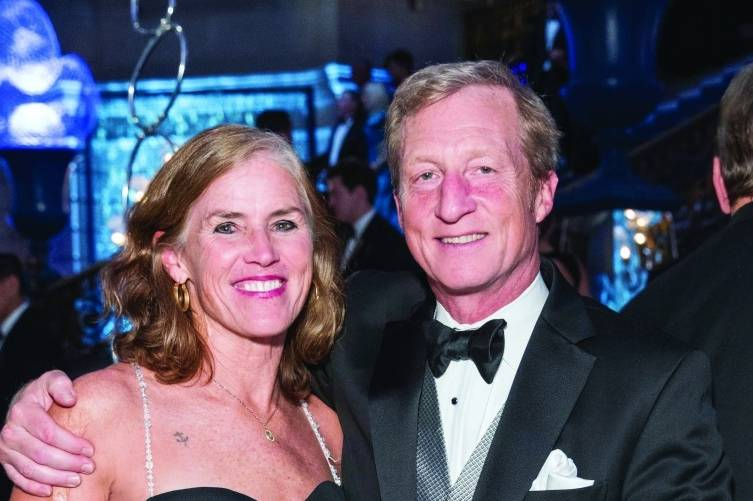Kat Taylor and Tom Steyer