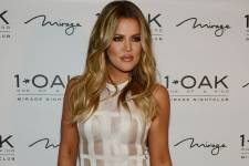 Khloe red carpet
