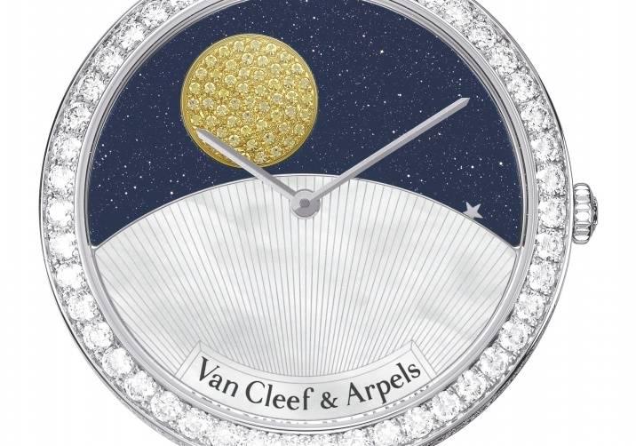 Lady Arpels Jour Nuit Paved Bracelet  - VCARN9VL00_476270