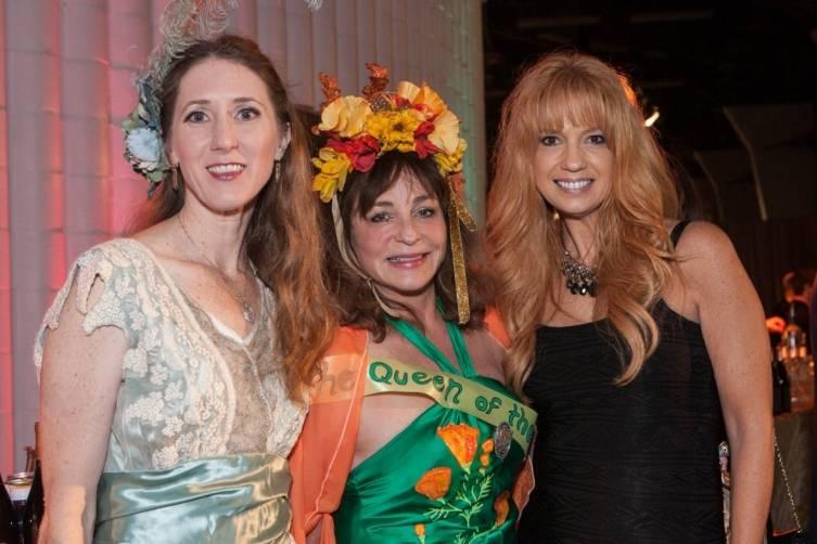 Laura Ackley, Donna Huggins and Tsarra Benitez