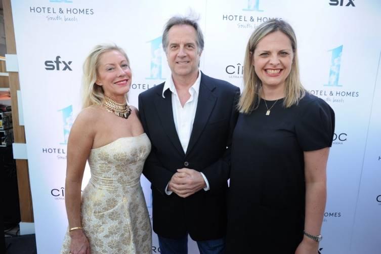 Lisa Bytner, Stephen Hannock, & Donna Rodriguez