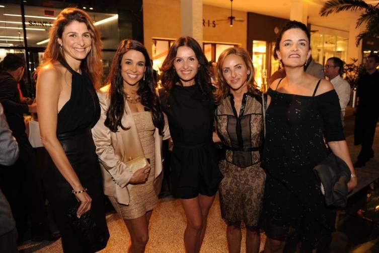 Lisa Sayfie, Stephanie Sayfie Aagaard, Alina Shriver, Monika Kalpakian, & Suzie Wahab