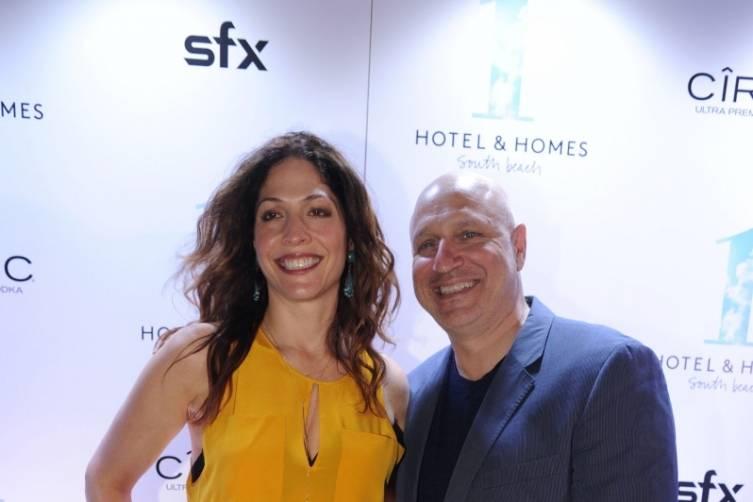 Lori Silverbush & Tom Colicchio