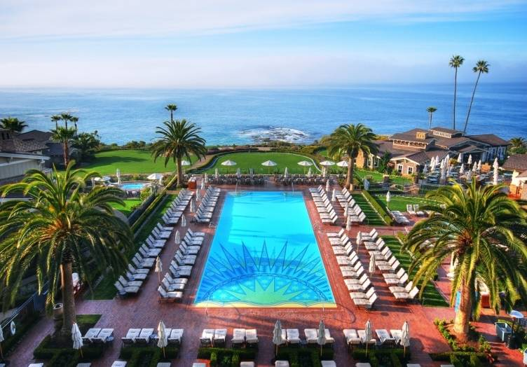 the best hotel pools in southern california