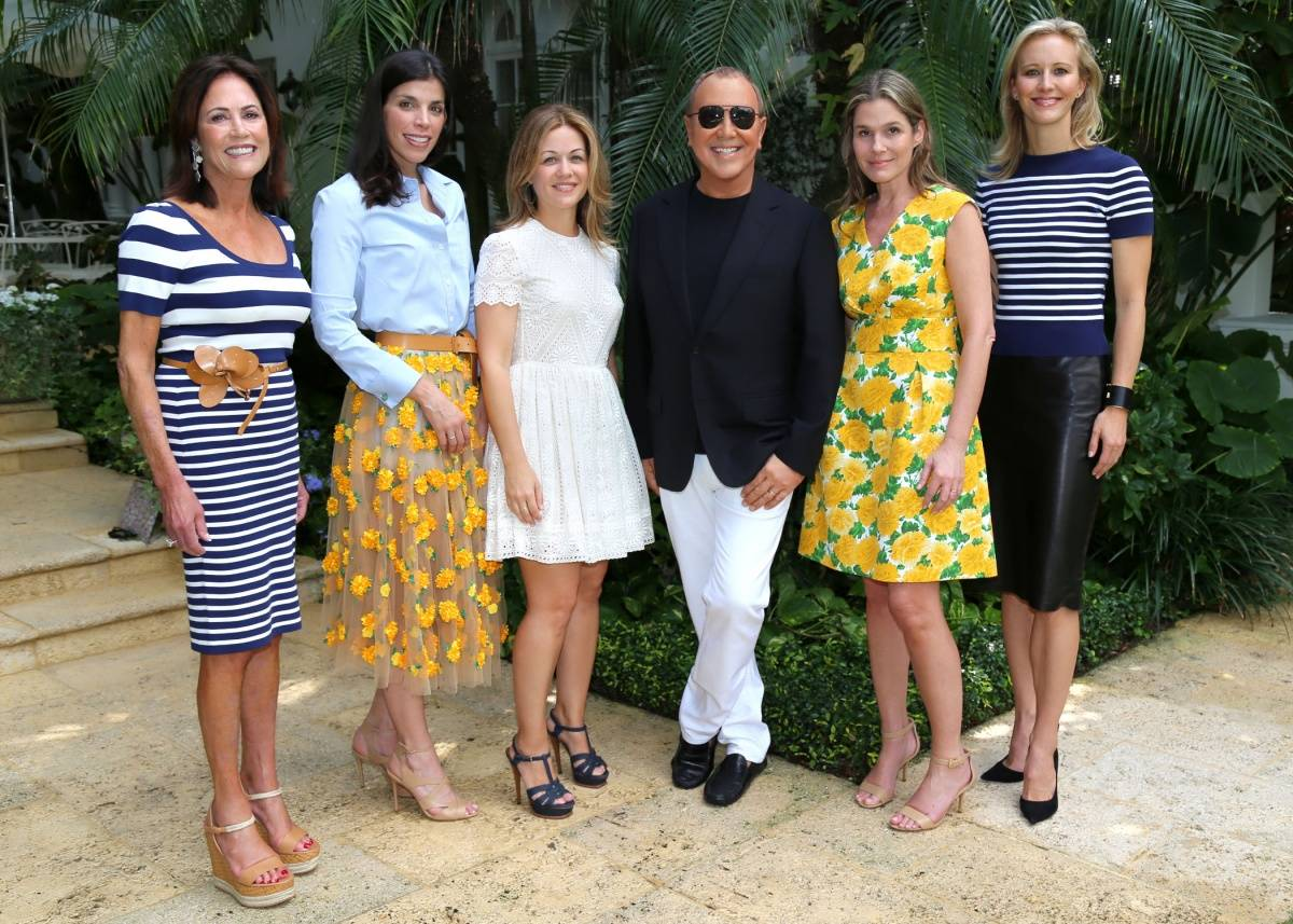 ece8276e61ee6 Michael Kors Luncheon with Kelly Klein