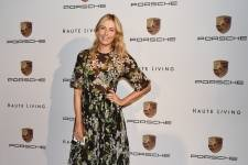 Maria Sharapova at Haute Living event