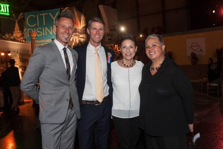 Mat Lundberg, Zack Taylor, Joy Luckel and Judy Aubry