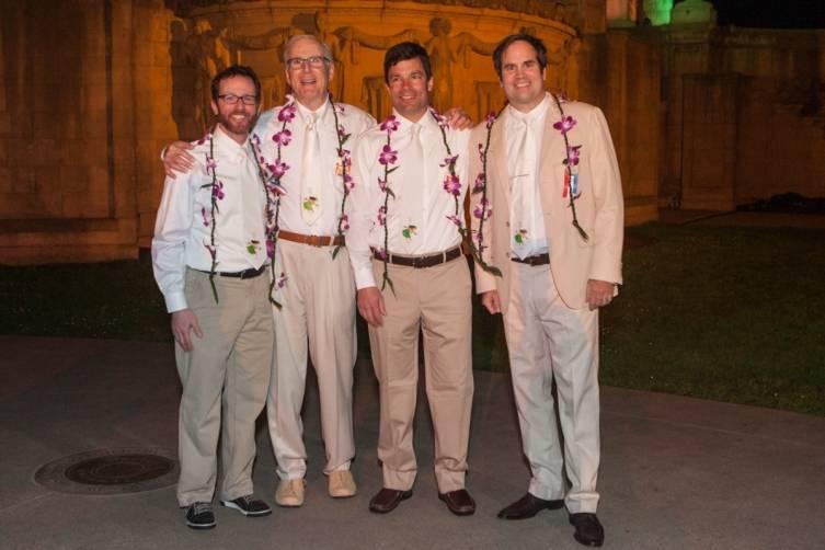 Matt Brenner, Marc Goldyne, Peter Petitt and Eric Rindal