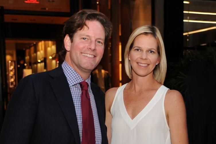 Matthew Whitman Lazenby and Kristin Arbuckle Lazenby