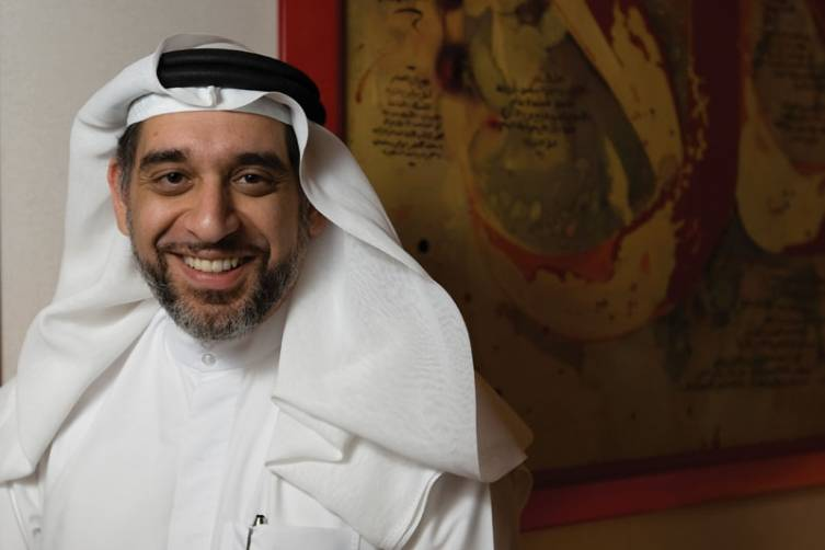 Mishal Kanoo, Deputy Chairman of the Kanoo Group is both a global strategist and art aficionado.