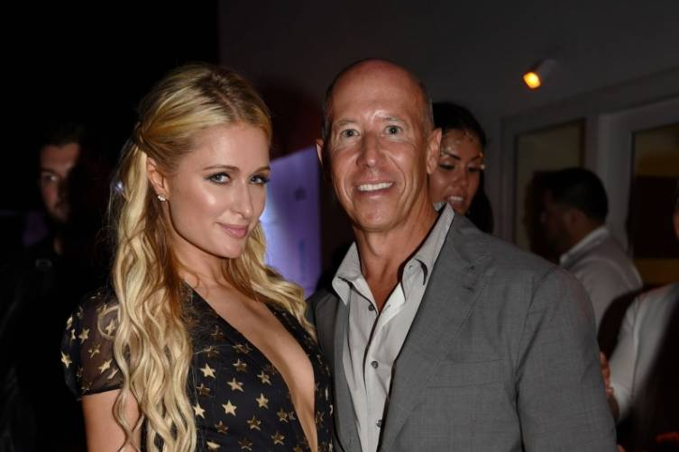 Paris HIlton and Barry Sternlicht