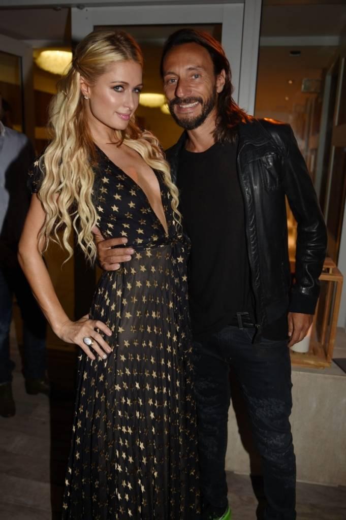 Paris Hilton and Bob Sinclar