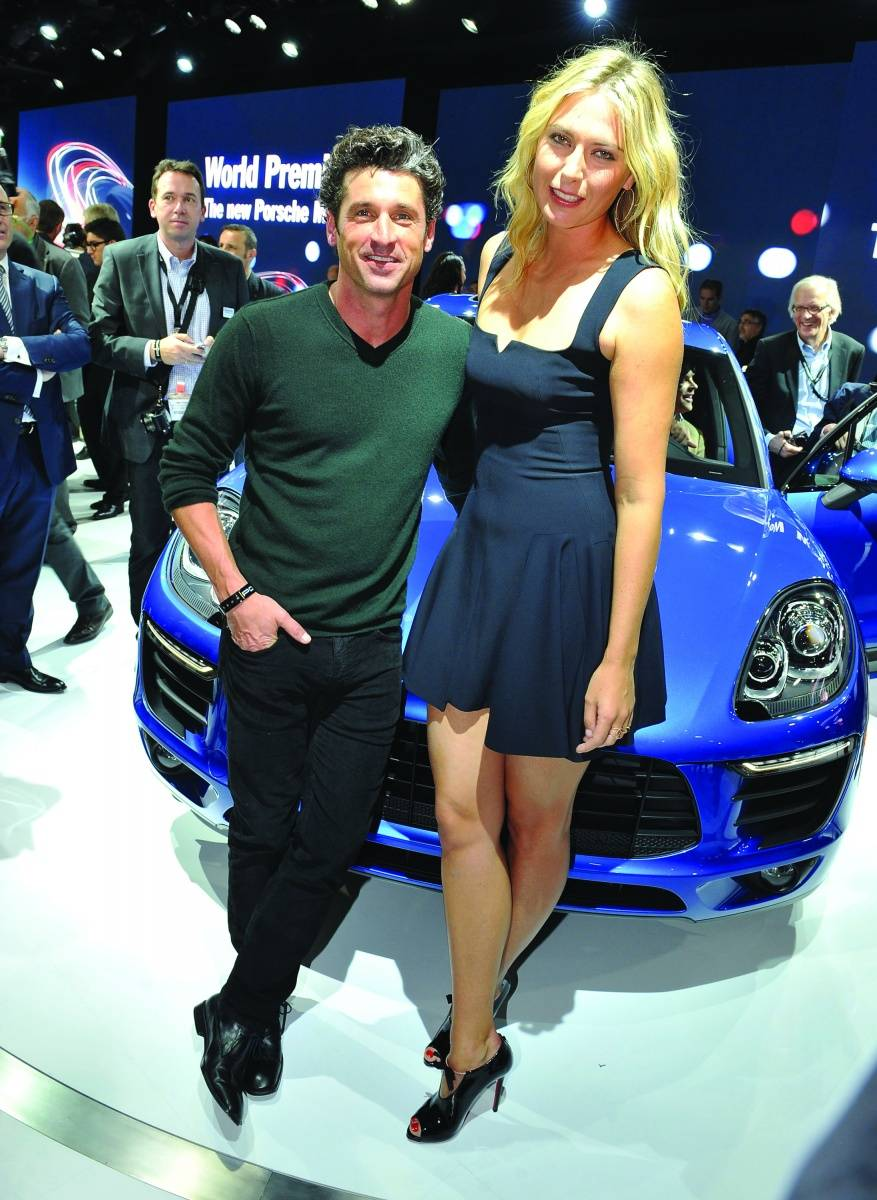 Patrick Dempsey and Maria