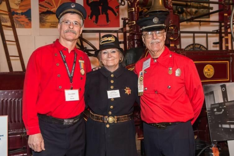 Paul Barry, Liane Corrales and Bill Koenig