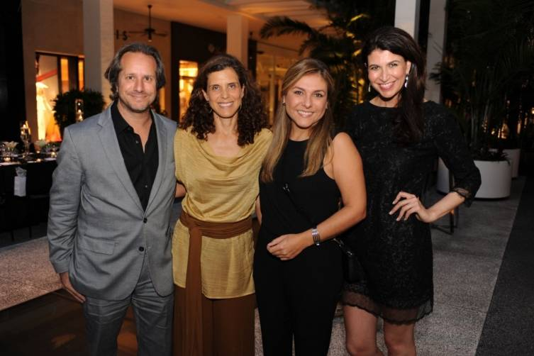Paul & Jeaninne Lehr, Lorena Garcia & Carolyn Travis