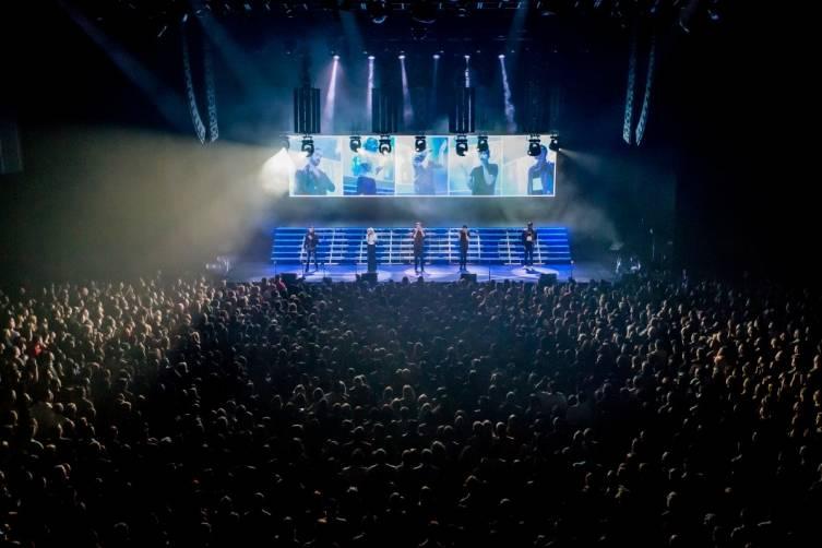 Pentatonix performs at The Chelsea inside The Cosmopolitan_Feb 28_Kabik_5