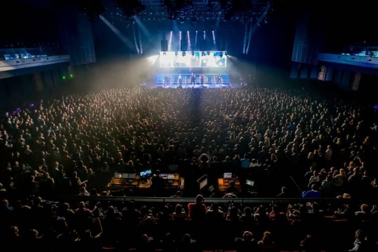 Pentatonix performs at The Chelsea inside The Cosmopolitan_Feb 28_Kabik_7