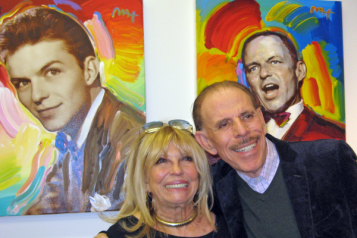 Peter Max and Nancy Sinatra