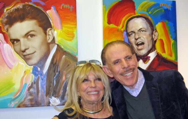 Peter Max and Nancy Sinatra