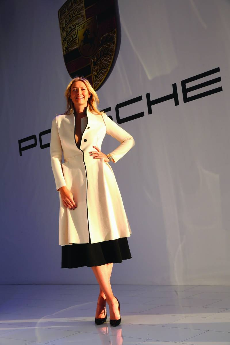 Porsche Sochi Event - Bottega Coat in Ivory
