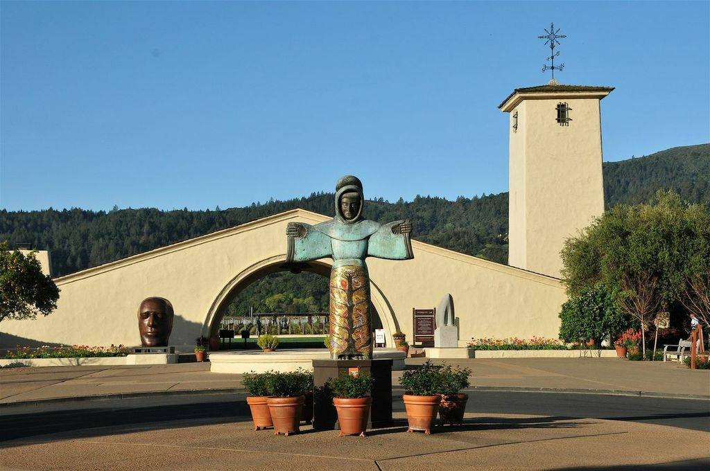 robert mondavi sculpture welcome muse