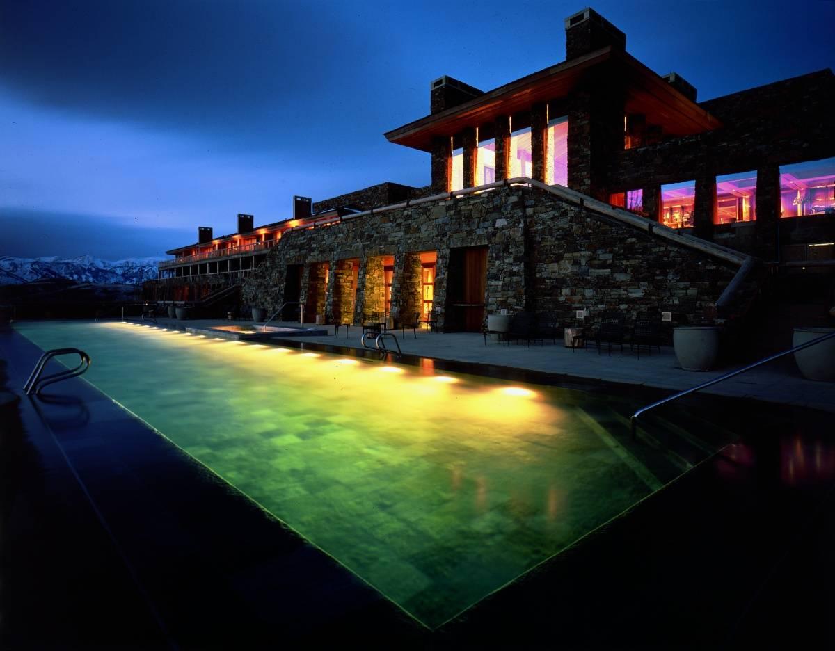 Amangani Pool and Terrace